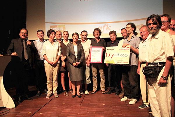 Ehrung beim Interkulturpreis 2015