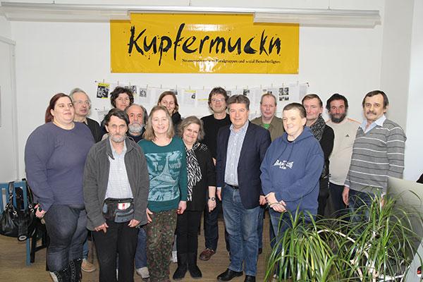 Besuch Soziallandesrat Reinhold Entholzer
