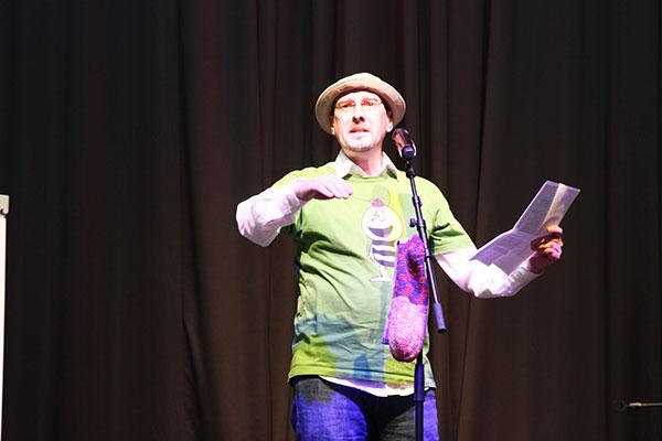 Kupfermuckn Poetry Slam  zum Thema Vertreibung aus dem öffentlichen Raum