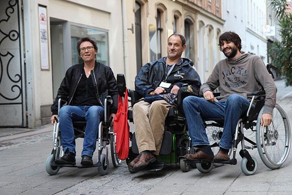Rollstuhltest Linz