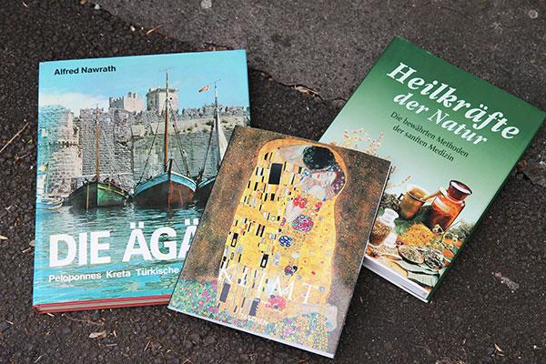Tausende Bildbände, Taschenbücher, Kinderbücher, ...