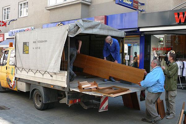 Wohnungsräumung in Linz